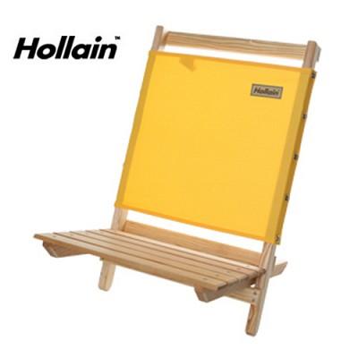 홀라인 캠핑용 원목 접이식 의자 Holla chair poly - yellow 색상