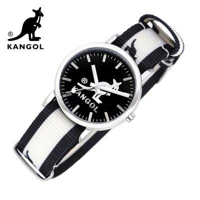 [KANGOL] 캉골시계 나토밴드시계 KG11232_1 BWB LOGO