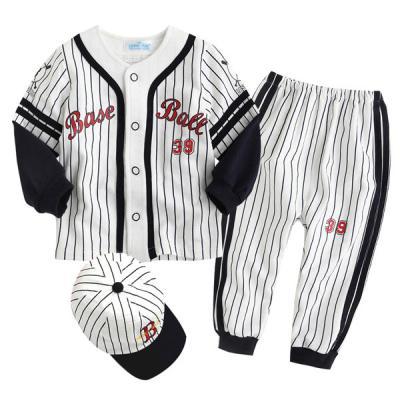 한국생산 야구 상하복n모자 블랙(0-36개월) 203724