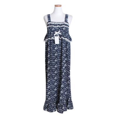 [쿠비카]프릴장식 드레스 원피스 민소매 여성잠옷W438