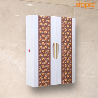 스토피아 700 플라워 욕실장(밤색)