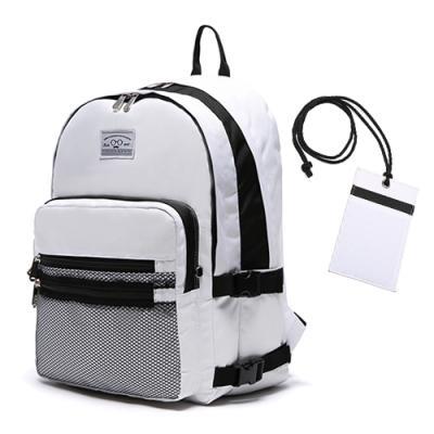 [로디스] 3D BACKPACK - WHITE 학생백팩