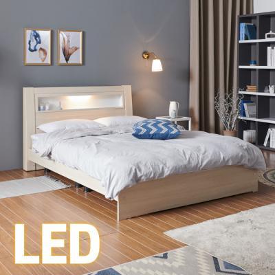 홈쇼핑 LED 침대 SS (양면스프링매트) KC201