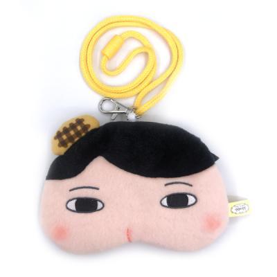 엉덩이 탐정 인형 목걸이 지갑(엉탐)