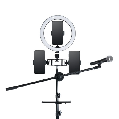 개인방송 원형 LED램프 조명 링라이트 삼각대 LCTB421