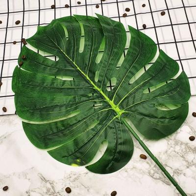 특대형 몬스테라 나뭇잎 조화