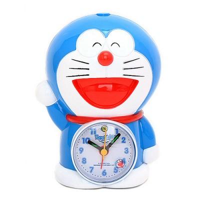 도라에몽 인형 알람 탁상시계