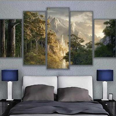 Home gallery CANVAS WALL ART 5분할액자 CH1507681