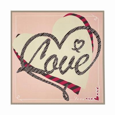 Love Square Petit Scarf