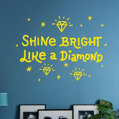 bc160-다이아몬드처럼빛나라_그래픽스티커
