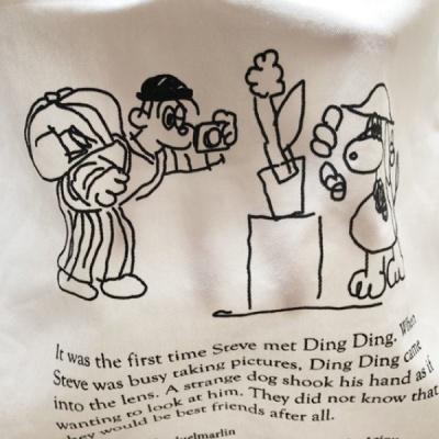 아에이오우 에코백_Steve and Ding Ding Bag