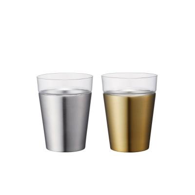 온도존 하이브리드 스테인레스진공컵 - 골드 350ml