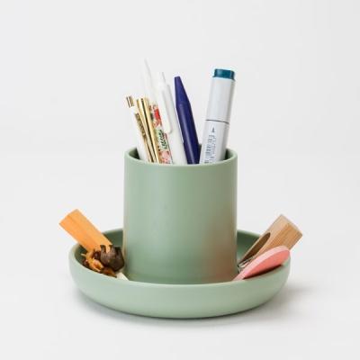 책상정리 화장대정리 펜꽂이 머쉬룸트레이