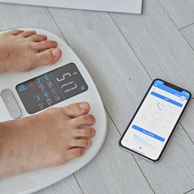 요아이 스마트 체중계 인바디 BMI 체지방 YSS-201FWH