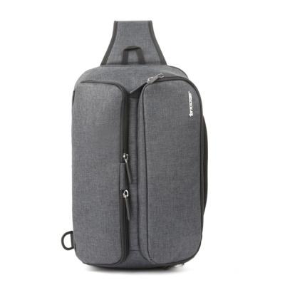 패브릭 고급 웨이스트백 가벼운 실용적 슬링백 gray