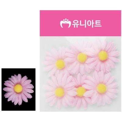 유니아트 (조화꽃) 1500 뿅국화 (연분홍