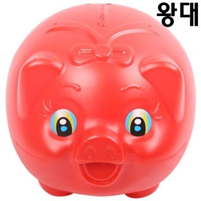 탤런트 돼지저금통(왕대)28x32x26.5cm