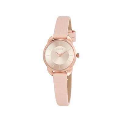 솔리드 필라 시계 핑크 W224LWPK