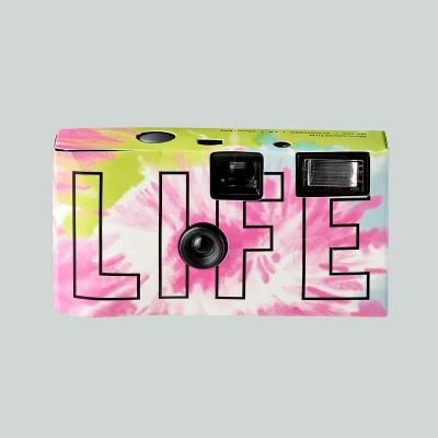 LIFE LOGO SINGLE-USE CAMERA_TIE DYE