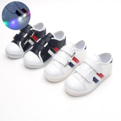 스와르 2선LED 130-180 유아 키즈 라이트 운동화 신발