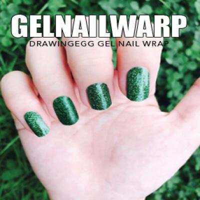 드로잉에그 젤네일스티커 GNWP-GREEN 펄 그린