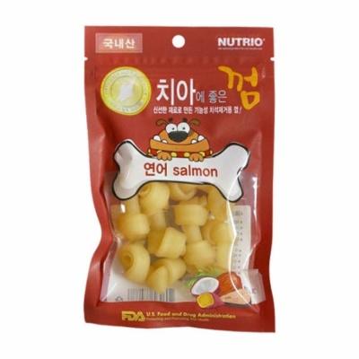 Nutrio (국산) 치아에 좋은껌 - 연어 (in)