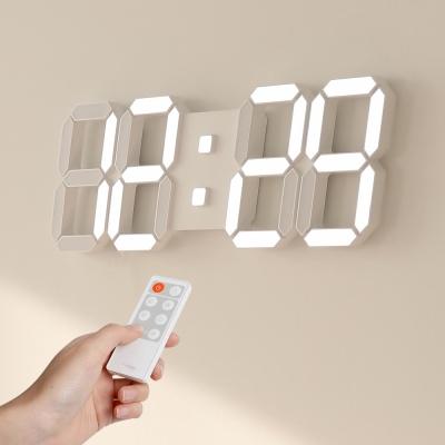 [무아스] 퓨어 39cm 슬림형 led벽시계(L) 무선 리모컨