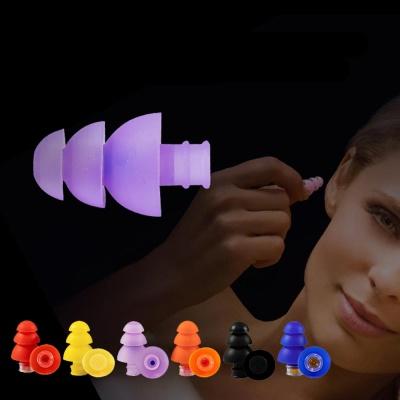 플리거즈 소음방지 이어플러그 3단 트리 수면 귀마개