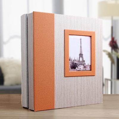 에펠탑 액자 접착식 포토앨범(20매)