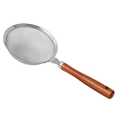 요리를 즐겁게 스테인레스 원목건지기 소 13cm