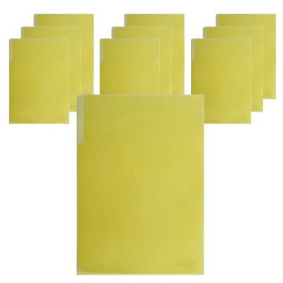 400 A4 PP 라이트홀더(노랑/10개입)