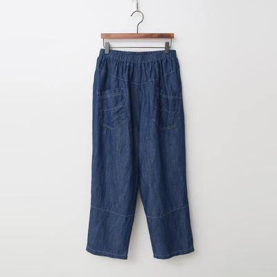 Linen Cotton Baggy Jeans