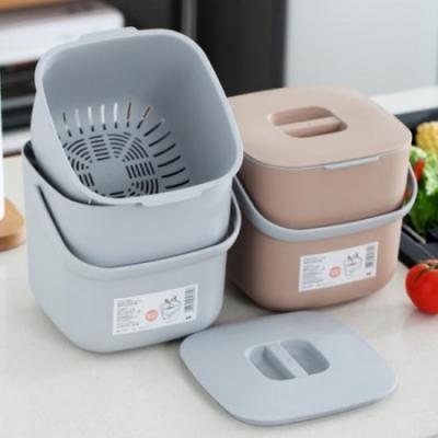 모던 키친 음식물 쓰레기통 1개(색상랜덤)