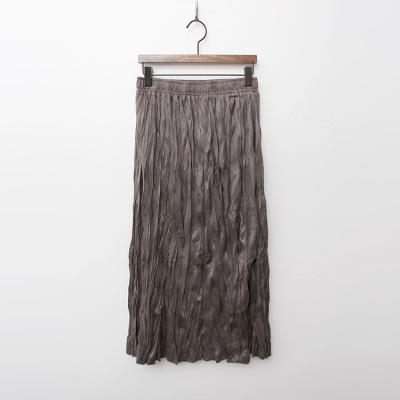 Easy Wrinkle Long Skirt