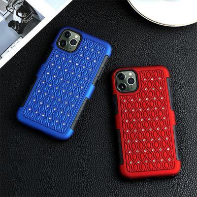 P491 아이폰11 프로 맥스 럭셔리 커브 하드 케이스