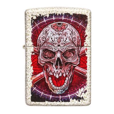 ZIPPO 라이터 49410 Skull Design