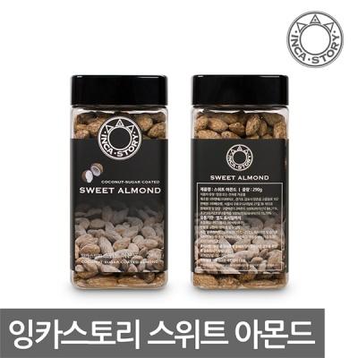 [무료배송] 잉카스토리 보틀패키지 스위트 아몬드 290g