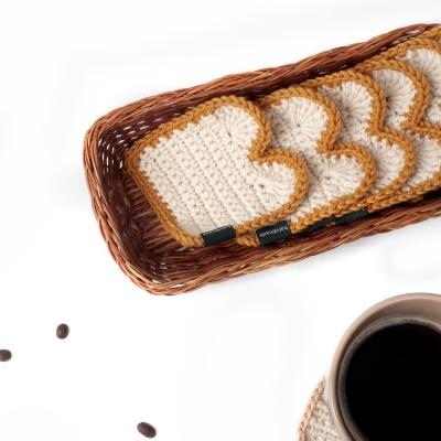 식빵 컵받침 - 코바늘 키트