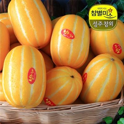 아삭 달콤한 향내풍기는 성주참외 4kg/9~12과(대과)