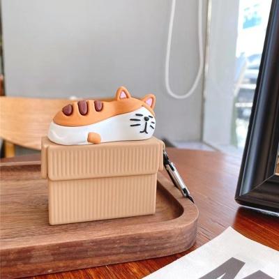 에어팟 1/2/프로 귀여운 야옹이 고양이 실리콘 케이스