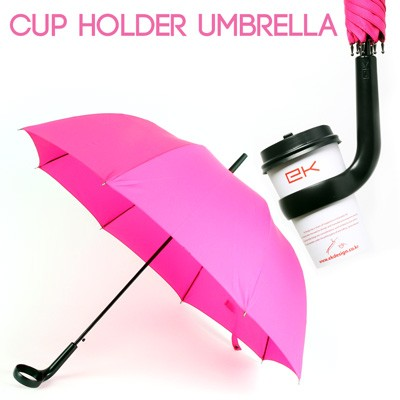 컵홀더우산 N-Pink
