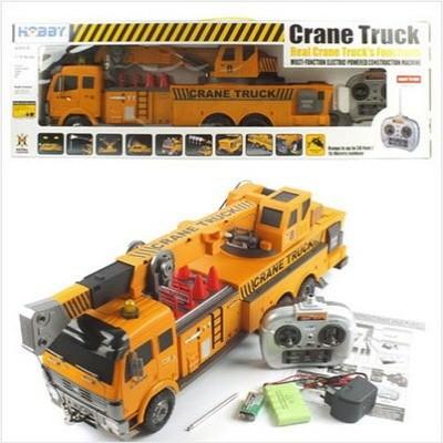 1/18 빅스케일 크레인트럭 RTR R/C모형 (HBE298129YE) CRANE TRUCK 무선모형 RC
