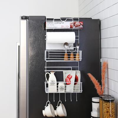 폴딩 냉장고 사이드 틈새선반