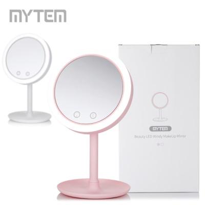 [마이템] LED 바람 메이크업 거울(건전지) GPM-001