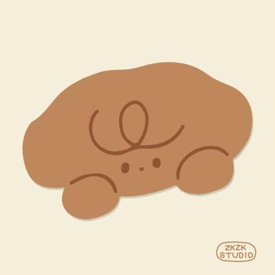 [자꾸자꾸] 강아지 푸푸 얼굴 마우스패드
