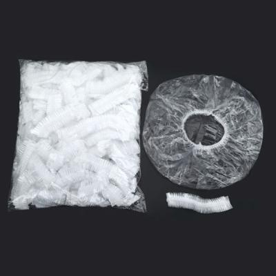 일회용 방수 주방 조리 미용 두건 비닐 위생 모 자