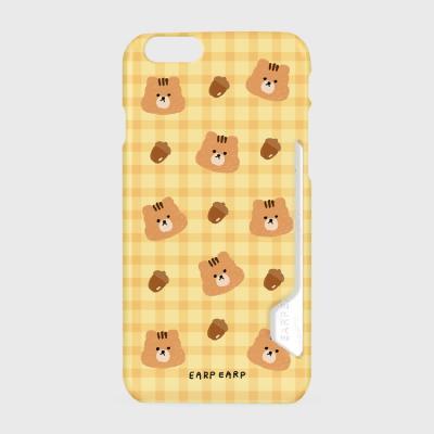 Check squirrel acorns-yellow(카드수납케이스)