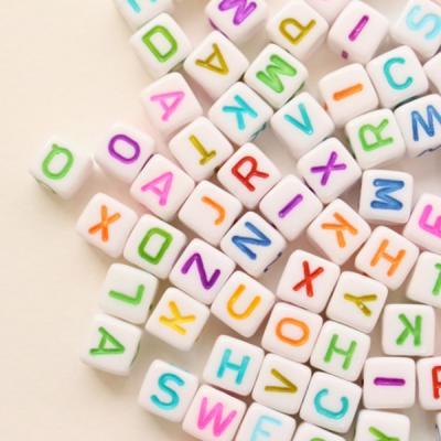 칼라사각 알파벳비즈100p