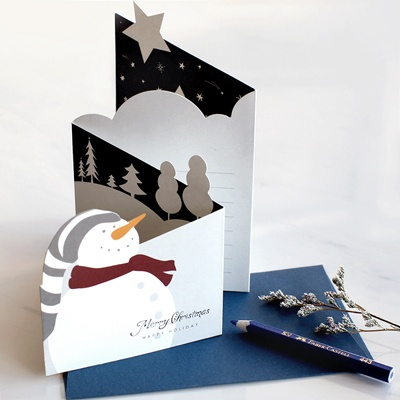 디비디 크리스마스 카드 - Petit Snow