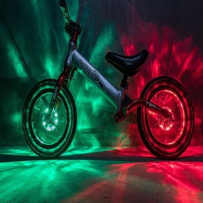 초간단장착 USB충전 자전거 휠 라이트 바퀴등 라이딩
